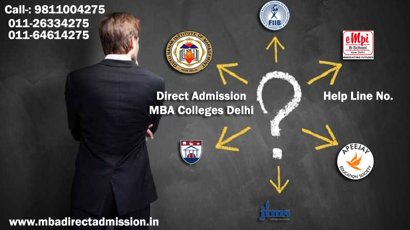 Direct Admission in MBA in Delhi